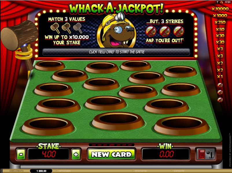 Whack a Jackpot Spielautomat
