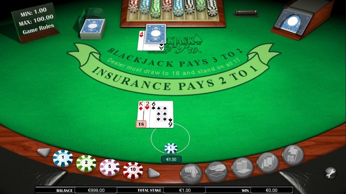 Blackjack Atlantic City Sh online