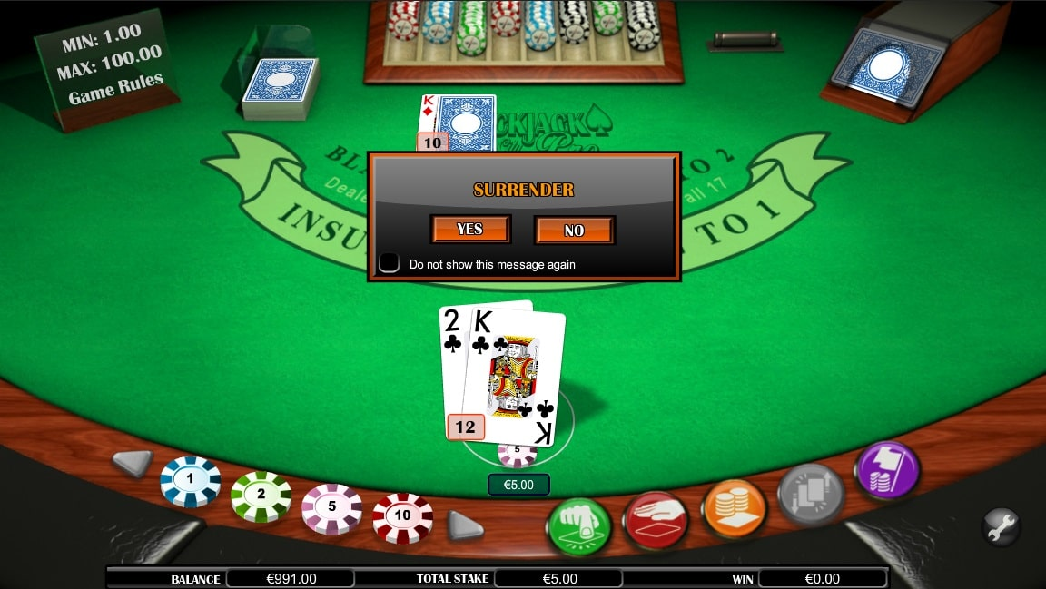Blackjack Atlantic City Sh kostenlos