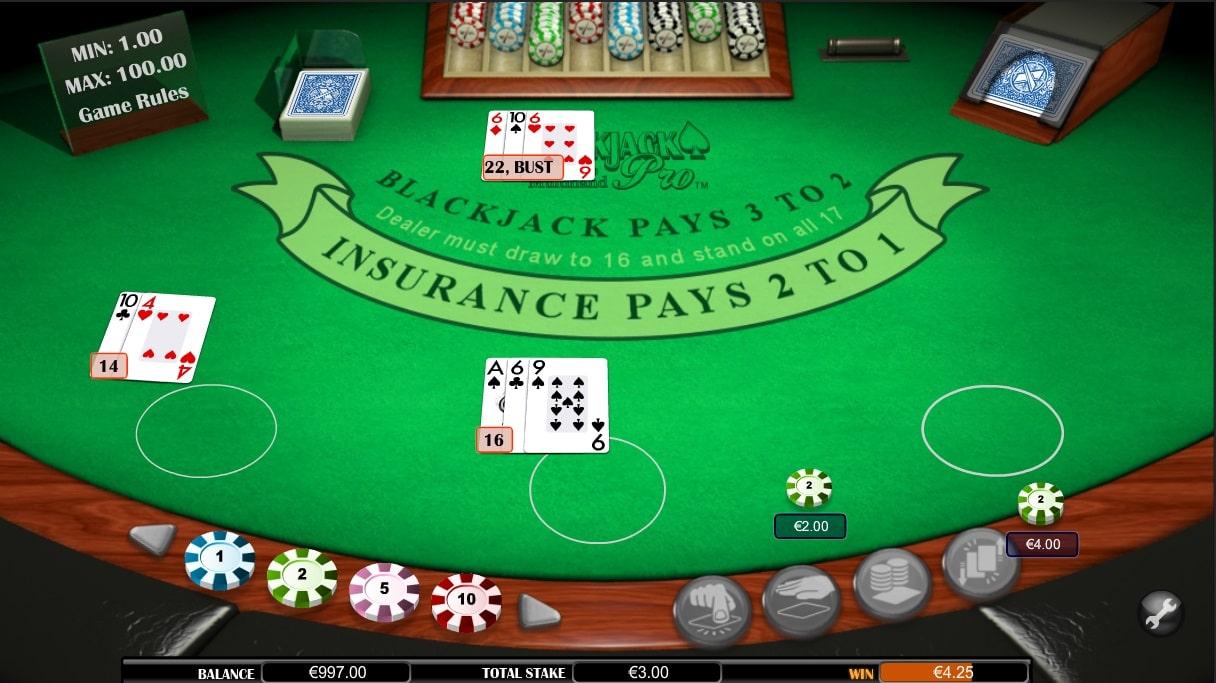 monte carlo blackjack online