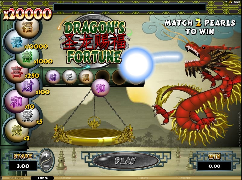 Dragons Fortune Online