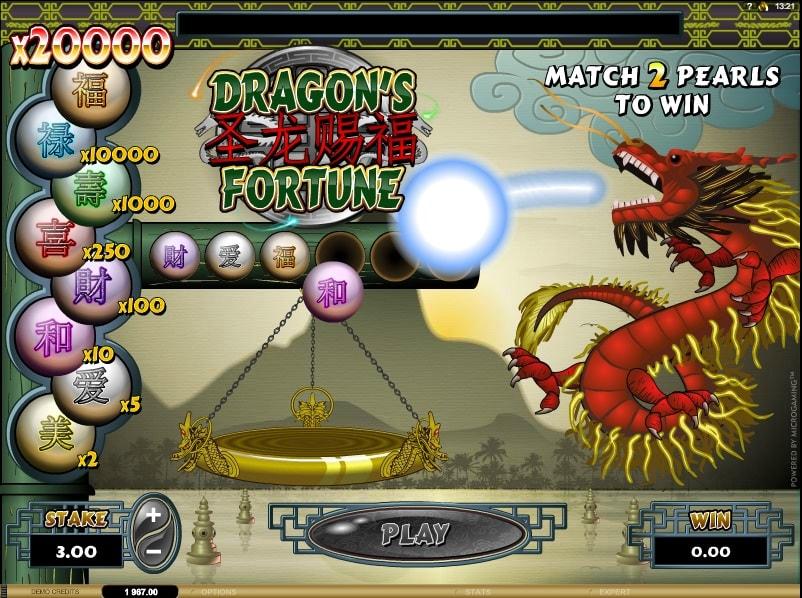 Dragons Fortune Online