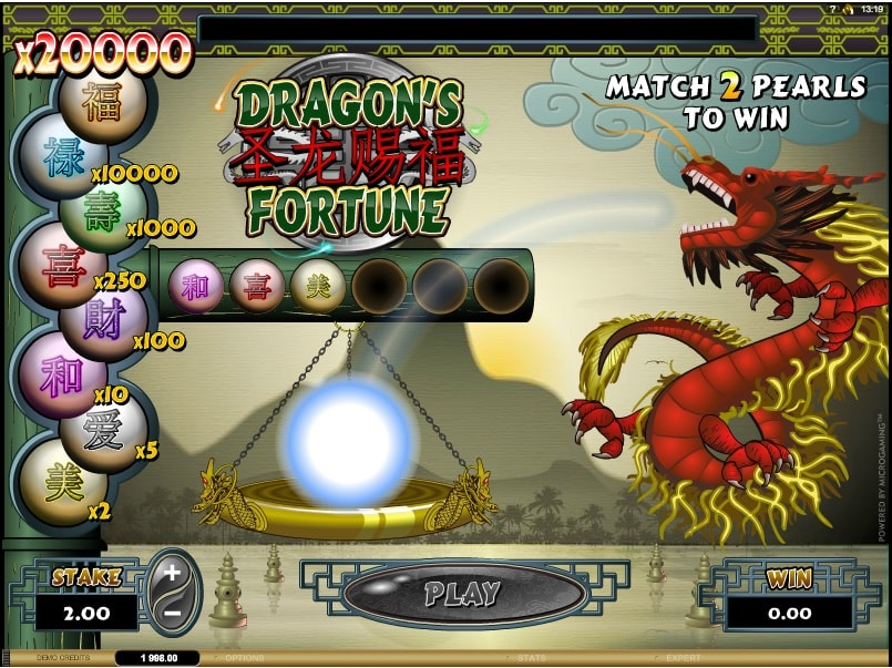 Dragons of Fortune Slot Machine