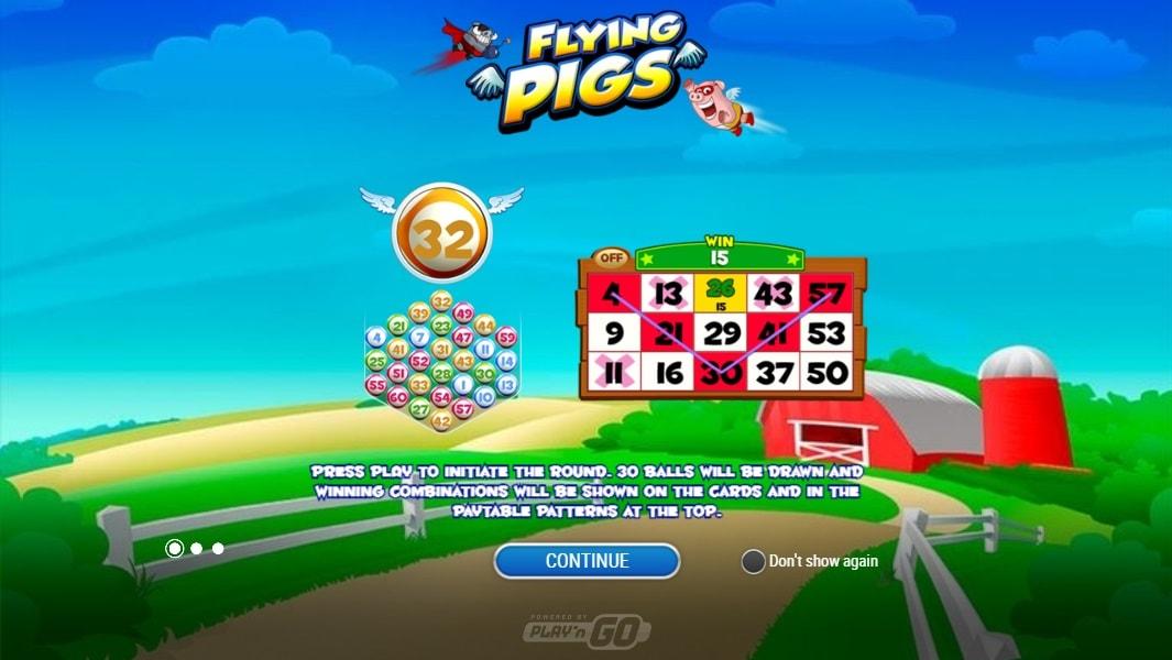 flying pigs spiel