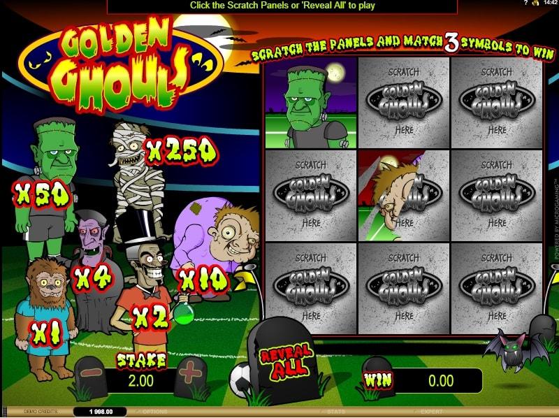 Golden Ghouls Online
