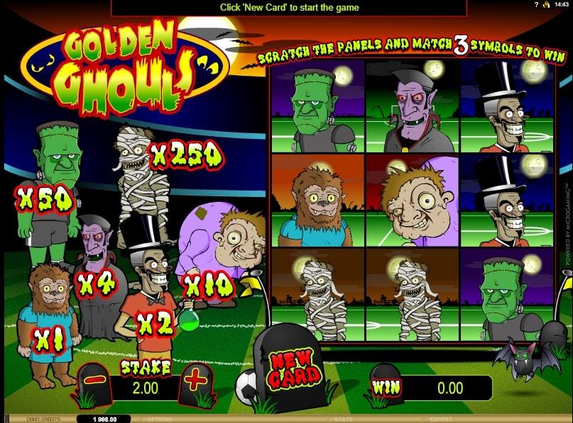 Golden Ghouls spielen