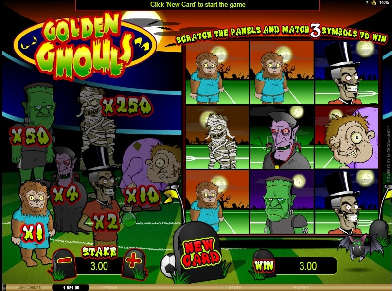 ghouls gold spielautomat