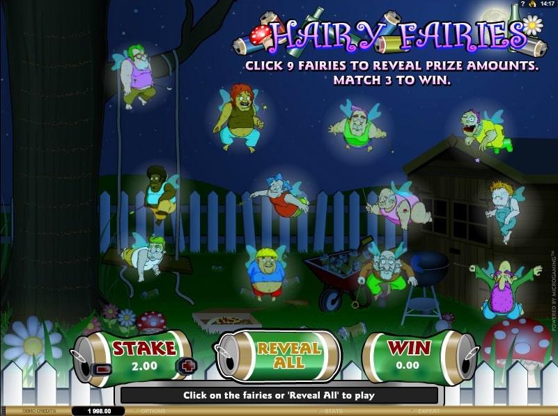 Hairy Fairies Online