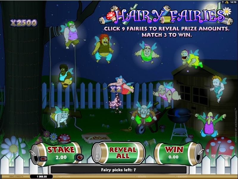 Hairy Fairies Spielautomat