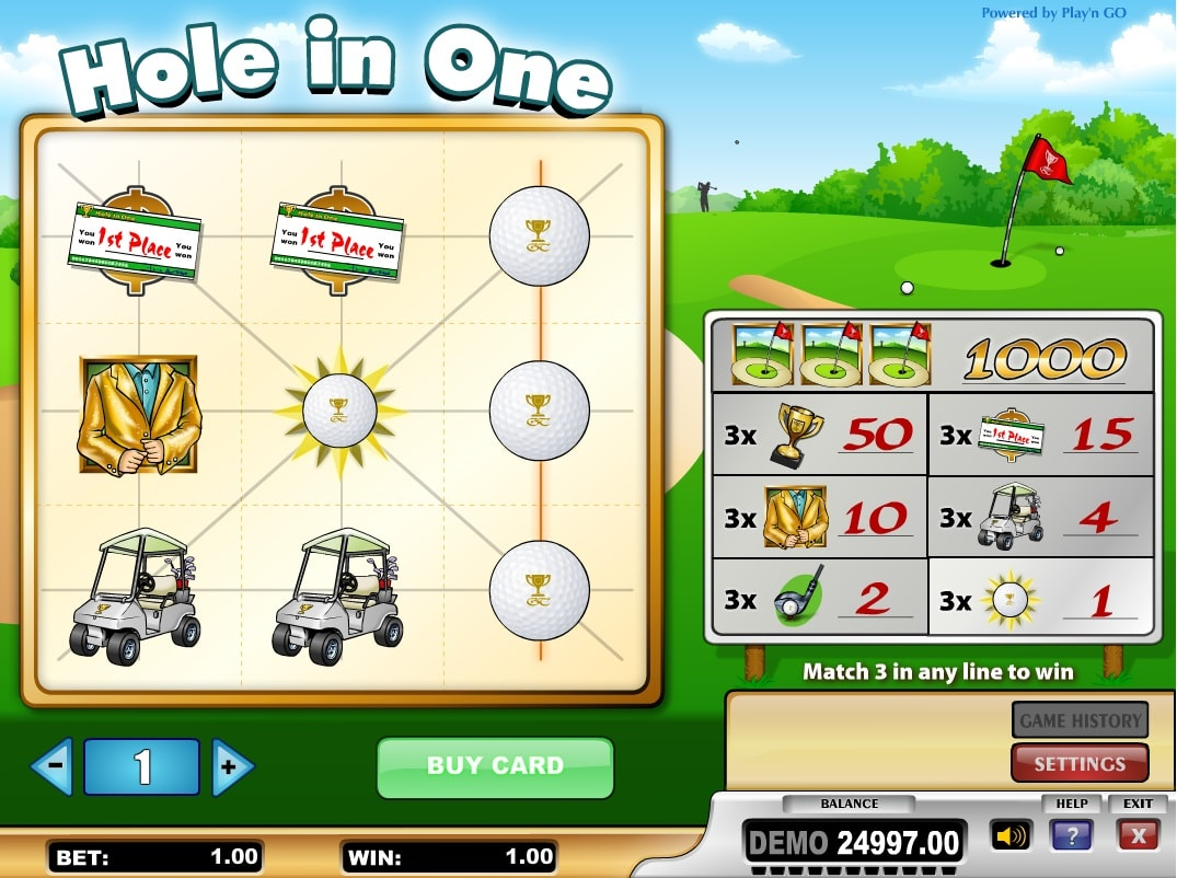 Hole in One online