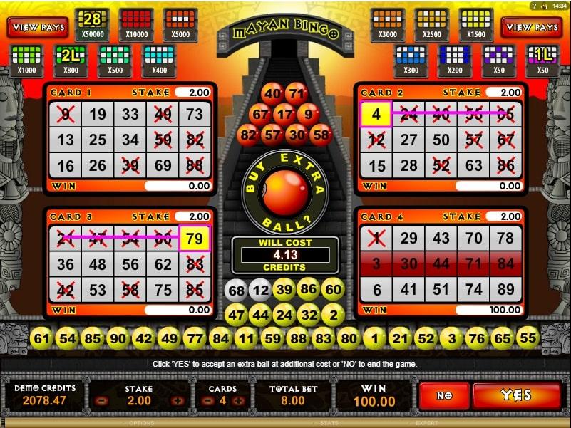Mayan bingo online spielen kostenlos