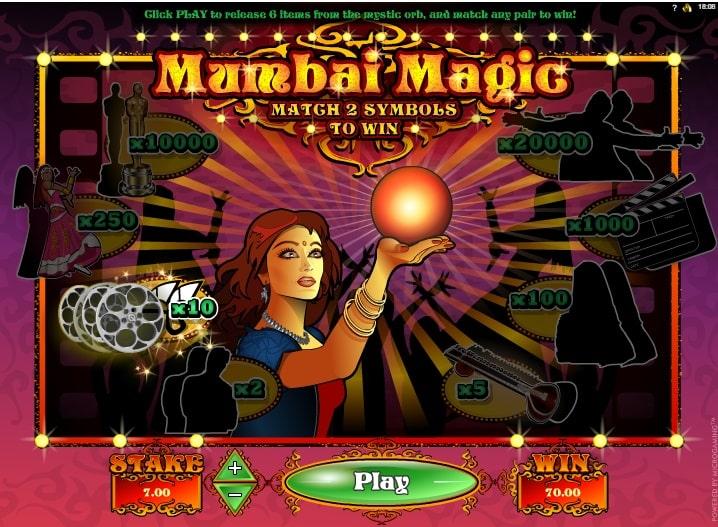 Mumbai Magic Spielautomat