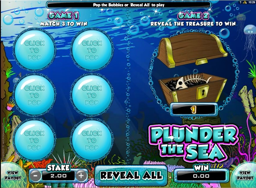 Plunder The Sea spielen