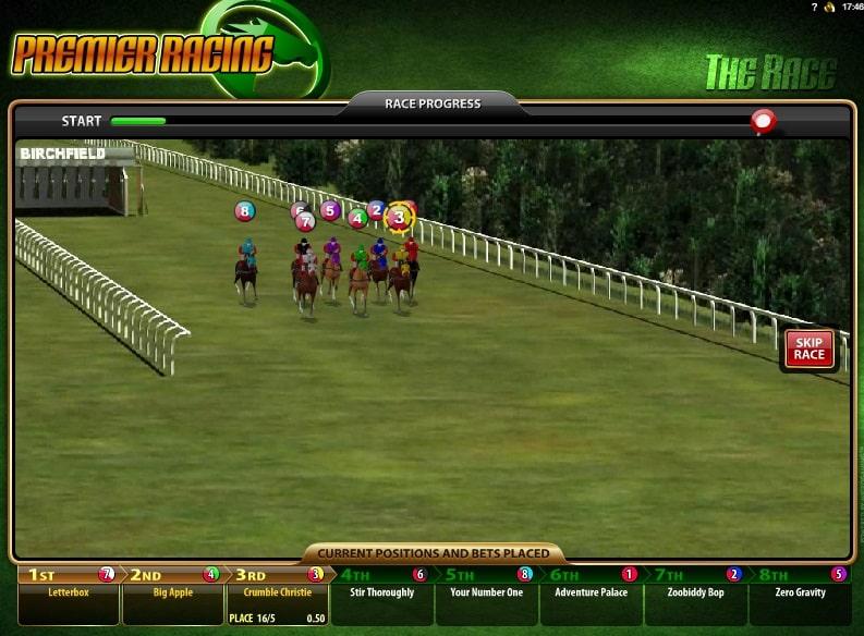 Premier Racing Online Spielautomaten