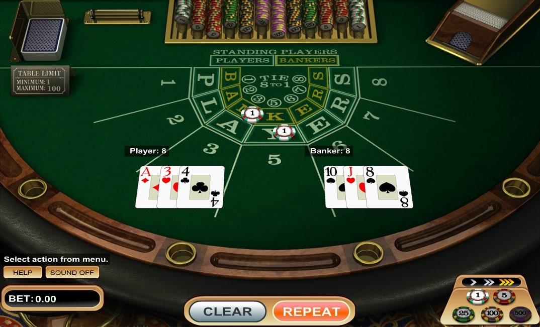 baccarat (Betsoft) online spielen