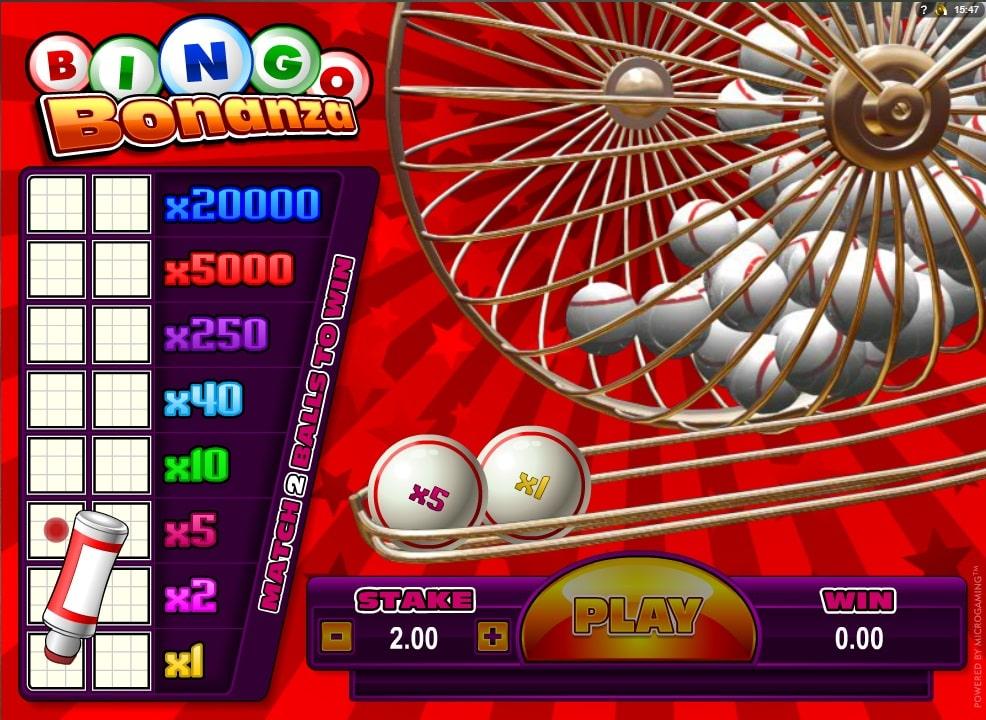 Bingo Bonanza Online