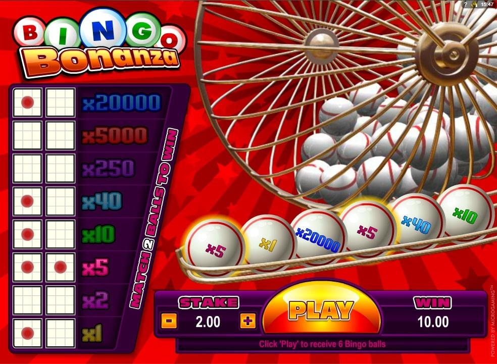 Bingo Bonanza Spielautomat