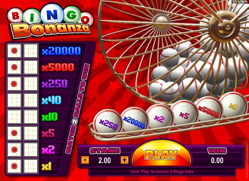 Bingo Bonanza spielen