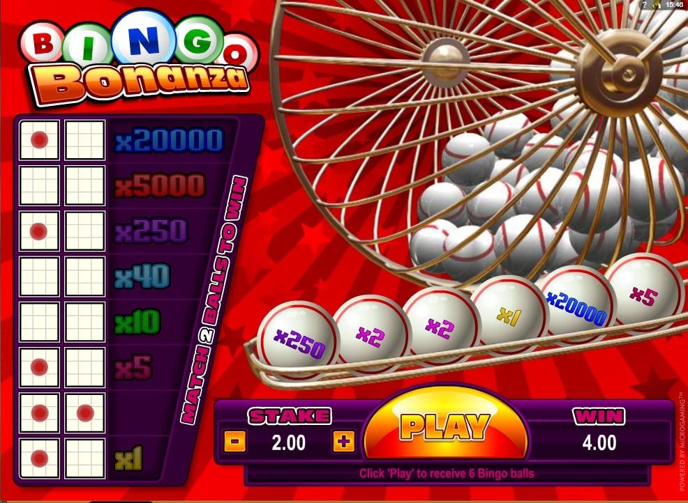 Bingo Bonanza Online Spielautomat