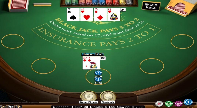 blackjack classic standard limit kostenlos