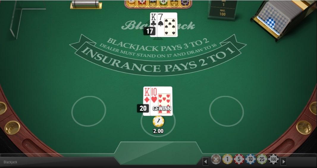 blackjack multihands automaten