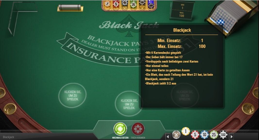 blackjack multihands