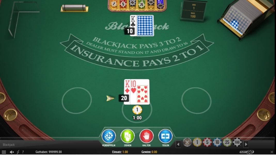 blackjack multihands kostenlos