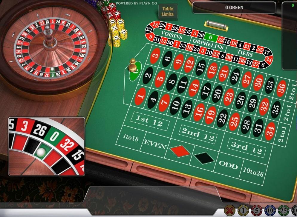 English Roulette Spielautomat