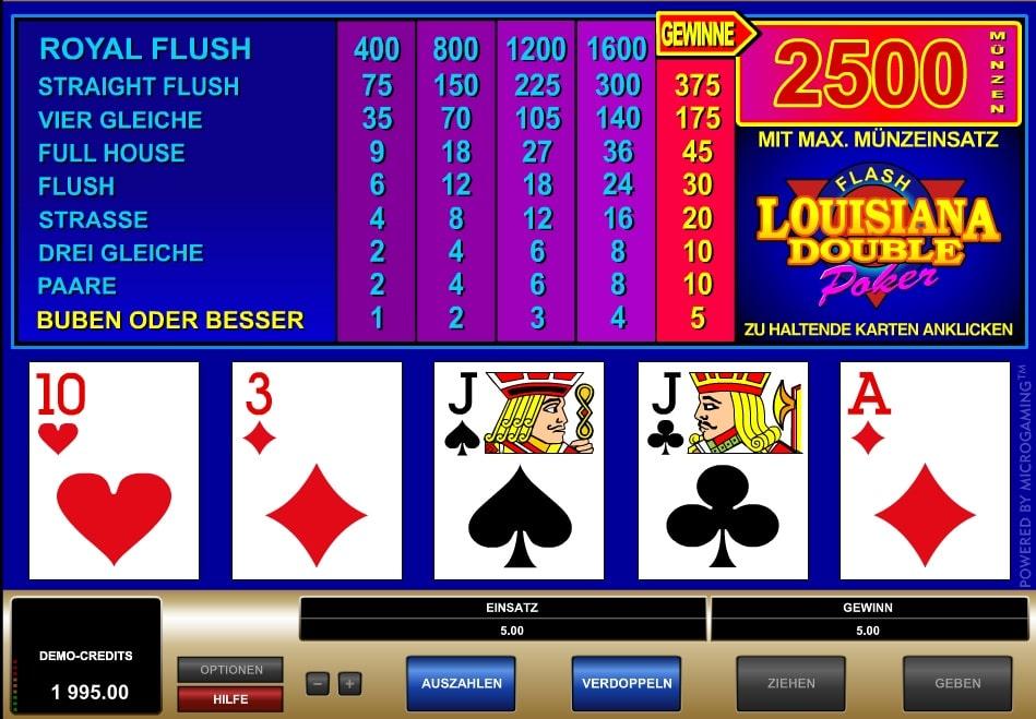 louisiana double poker