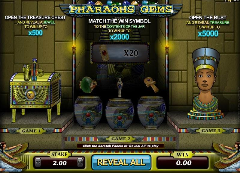 Pharoah Gems Spielautomat