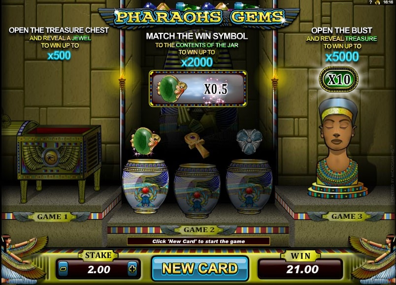 Pharoah Gems kostenlos