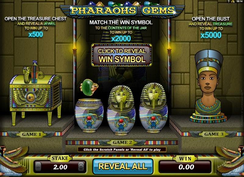 Pharoah Gems Online