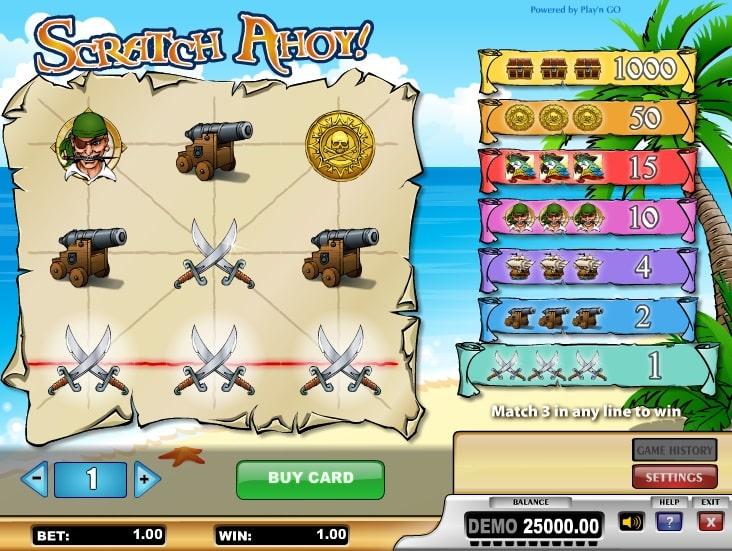 Scratch Ahoy Online