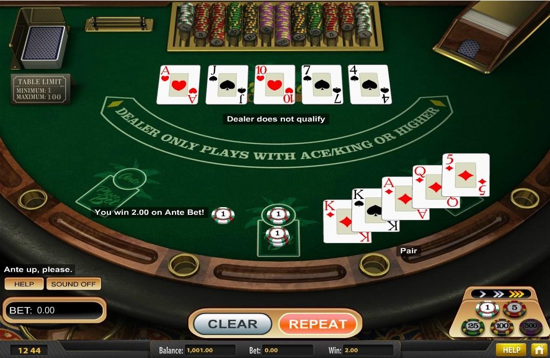 Caribbean Poker kostenlos