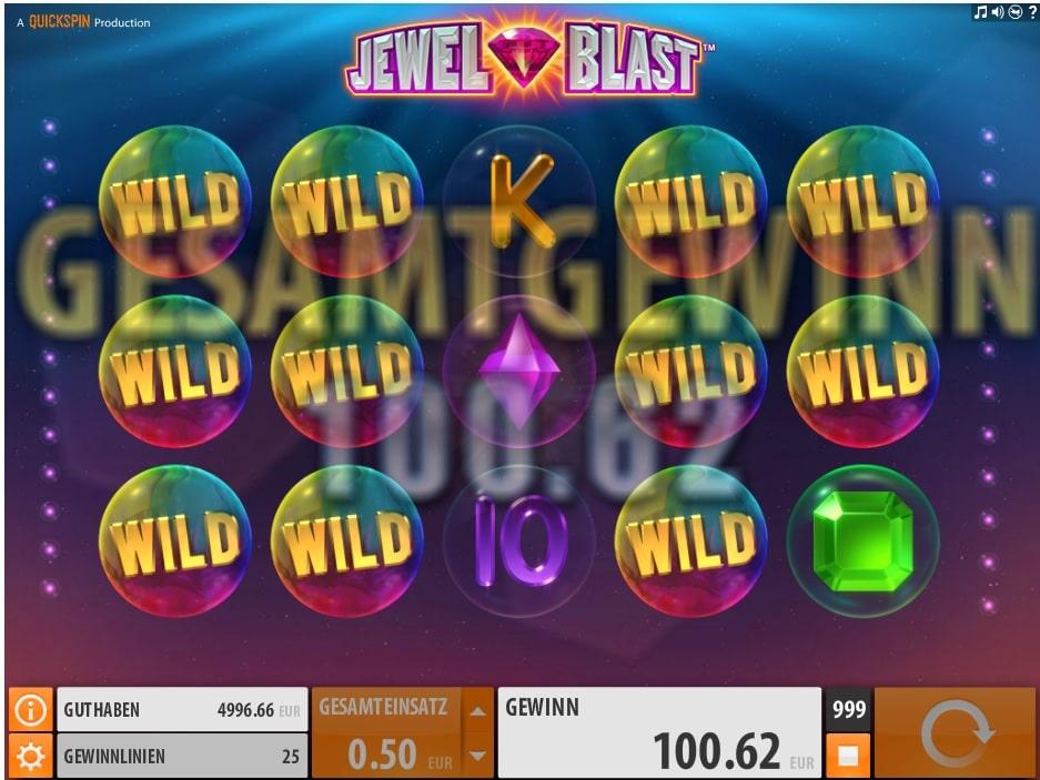 Spielautomat Jewel Blast von Quickspin