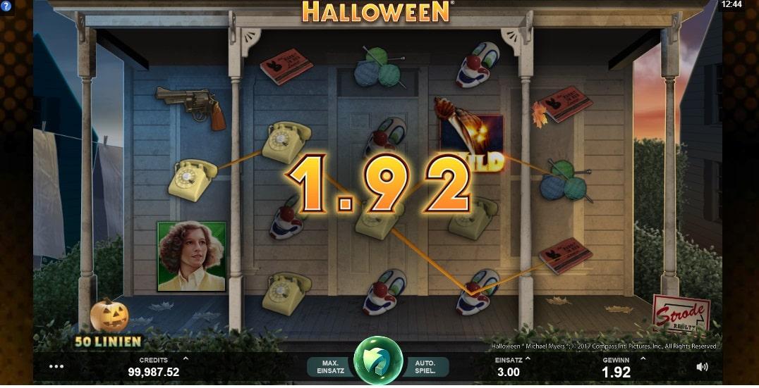 Halloween Spielautomaten